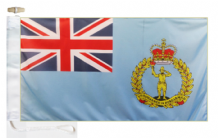 Royal Air Force RAF Royal Observer Corps Courtesy Boat Flags (Roped and Toggled)
